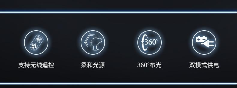 Tolifo图立方LED补光灯R-S36B(图2)